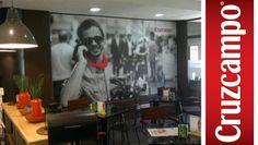 #Diseño #Producción #Paredes #restauración #colores #bares #madrid #ElHidalgoII
