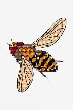 Hornet - cross stitch pattern