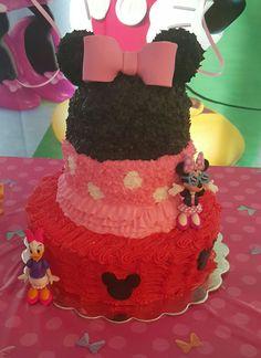 Minnie and michey cake♡♡♡
