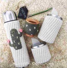 Resultado de imagen para set matero al crochet
