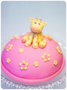 baby girl cake @Lynsee Bielick