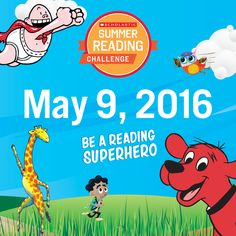 The countdown has begun! T-minus two weeks until the 2016 Scholastic Summer Reading Challenge begins. Teachers, register your students using our bulk registration tool (it's super easy!) before everyone heads out for summer vacation. Parents, sign your child up to read on his or her own during the summer months! Click through to get started. #summerreading