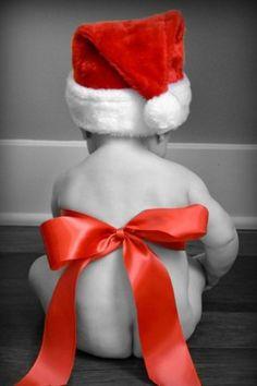 ¡Un Papá Noel en miniatura!