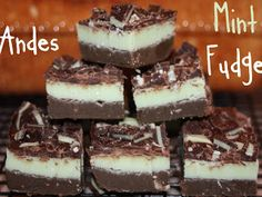 Baking Away: Andes Mint Fudge