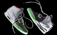 Celebrities who wear, use, or own Nike Air Yeezy 2 Pure Platinum Sneakers. Also discover the movies, TV shows, and events associated with Nike Air Yeezy 2 Pure Platinum Sneakers. Nike Air Max, Nike Air Yeezy 2, Nike Sb, New Nike Air, Boys Nike, Nike Shoes Cheap, Nike Shoes Outlet, Cheap Nike, Hip Hop Sneakers