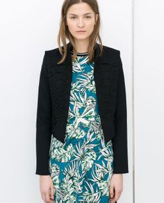 ZARA - WOMAN - SHORT JACKET WITH TOGGLES