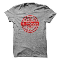 Made in 1966 All Original parts #tee #Tshirt