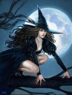 Ведьмочка - анимация на телефон №1055667