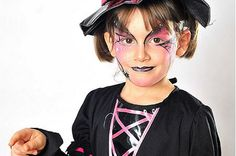 Halloween face-painting made simple - Mirror Online