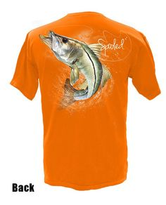 Short Sleeve Spooled Snook