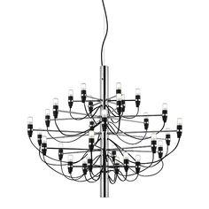 Flos 2097 Lustre - S Ø 88 cm - chrome Chandelier, Design Bestseller, Messing, Home Decor Inspiration, Designer, Chrome, Brass, Ceiling Lights, Mirror
