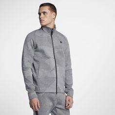 Nike Sportswear Tech Fleece Men's Jacket - S Tech Fleece, Sport Wear, Full Zip Hoodie, Sport Fashion, Heather Grey, Winter Jackets, Shirt Dress, Hoodies, Mens Tops