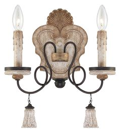 Accents Provence Patina 2Lt. Wall Sconce