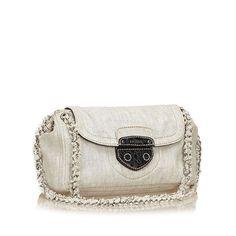 9625fc652809 Prada light denim Pattina shoulder bag #pradapattina #pradabag #prada  Designer Consignment, Prada