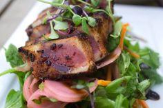 Downriver Grill. Spokane's Favorite Ahi Tuna Appetizer Spokane, WA Local. Seasonal. Fresh