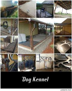 DIY dog kennel, maybe for my big guy someday. Loki will still get the run of the house.