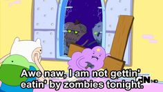 LSP Lumpy Space Princess Zombies Adventure Time