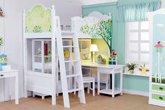 Atrévete crear un hermoso ambiente para el dormitorio de tus hijos