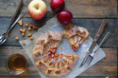 Лучшие рецепты галеты: с яблоками, клубникой, черешней, сливами