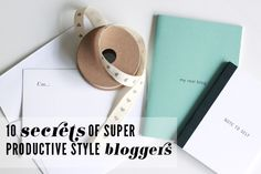 IFB's favorite (and crazy-productive) bloggers give their best tips for staying organized.