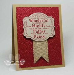 Prince Of Peace Card
