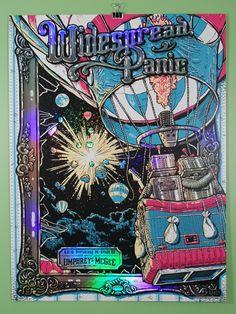 widespread panic, umphreys mcgee, pittsburgh, poster, print, 2015, robots, hot air balloonby Darin Shock