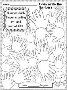 One hundredth day ideas and a freebie