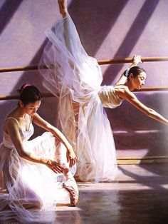 PAINTING BALLET DANCERS.......BY SHENZHEN YAHUAN..........SOURCE ECPLAZANET............