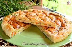 Torta salata Primavera, buonissima e semplice da preparare; arricchita con la ricotta e tante verdurine gustose! perfetta da gustare in questa stagione!