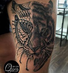 The maorian tiger. Dope piece by Filip @qbicink