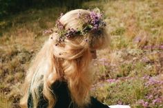 I wear this thyme wreath all day long enjoying the amazing smell,listening to 'Wild mountain thyme' by Greg Joy and imaging that I live in… Rapunzel, Hair Inspo, Hair Inspiration, Princess Aesthetic, Princess Of Power, Wild Child, Pretty Hairstyles, Her Hair, Floral