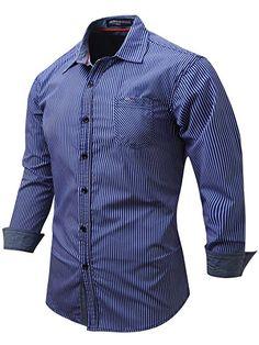 c484348d315 Neleus Men s Long Sleeve Button Down Shirts at Amazon Men s Clothing store