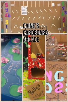 Based off of Caine's Arcade, students build their own arcade games using cardboard and other recyclable materials! AMAZING project :)