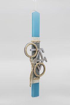 Λαμπάδες με ποδήλατα βέσπες και μηχανές Rolex Watches, Candles, Accessories, Fashion, Moda, Fashion Styles, Candy, Candle Sticks, Fashion Illustrations