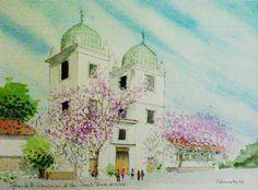 Iglesia de Los Dominicos (de San Vicente Ferrer) Santiago de Chile. Carlos Calvimontes Rojas