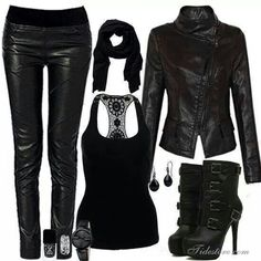 All black everything.........love the boots