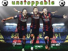 Nikt nie może powstrzymać ofensywnej trójki FC Barcelony • Lionel Messi, Neymar, Luis Suarez jako niepowstrzymani • Wejdź i zobacz >>