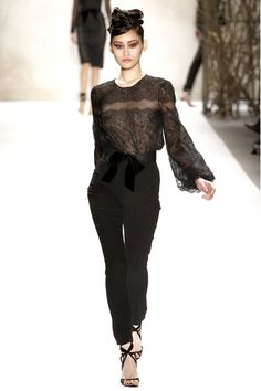 Monique Lhuillier Autumn/Winter 2011-12 Ready-To-Wear