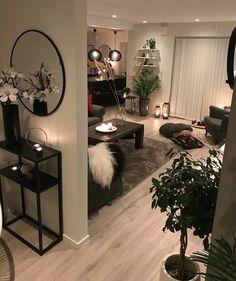 60 Elegant Cheap And Easy First Apartment Decorating Ideas Dream House Interior, Interior Design Living Room, Living Room Designs, Home Living Room, Apartment Living, Living Room Decor, First Apartment Decorating, My New Room, Home Decor Kitchen
