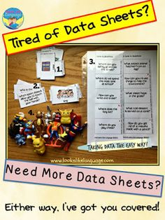 Free speech/language therapy data tips and downloads at LooksLikeLanguage!