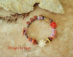 Colorful Bohemian Bracelet Hippie Boho Gypsy by BohoStyleMe
