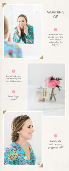 The must-try pre-wedding skin routine guaranteed to keep you looking flawless on the big day! @simpleskincare http://www.stylemepretty.com/2016/06/13/the-skincare-routine-you-must-try-the-month-leading-up-to-your-wedding/ #sponsored | Photography: Ruth Eileen Photo | Beauty: Jennie Kay Beauty