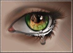 TEARS | animated eye tear going down picture by zarinaAliesha - Photobucket