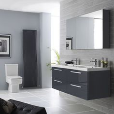 Refined Gray Bathroom Ideas Design And Remodel Pictures Brown