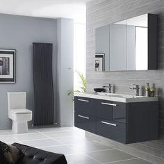 grey bathroom ideas luxurious grey bathroom ideas designed with tiled wall and…