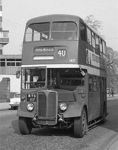 Dundee Corporation - The Double Deckers from 1946 Routemaster, Bus Coach, Dundee, Public Transport, Coaches, Planes, Britain, Monochrome, Trains