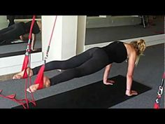 Redcord Lizzy Conditioning, Plank, Pilates, Cord, Strength, Videos, Fitness, Sports, Pop Pilates