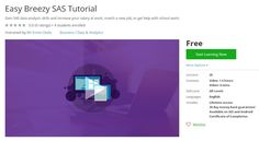 Coupon Udemy - Easy Breezy SAS Tutorial (Free) - Course Discounts & Free