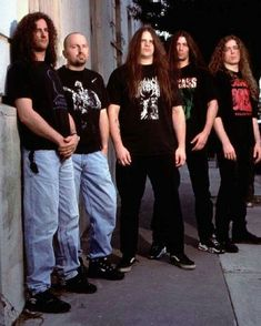 See Cannibal Corpse pictures, photo shoots, and listen online to the latest music. Heavy Metal Music, Heavy Metal Bands, Death Metal, Hard Rock, Pantera Band, Cannibal Corpse, Jim Morrison Movie, Band Photography, Extreme Metal
