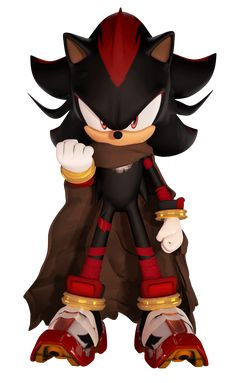 Shadow The Hedgehog (Boom Fan Design 2) by FinnAkira on DeviantArt